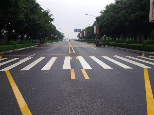 永川道路划线