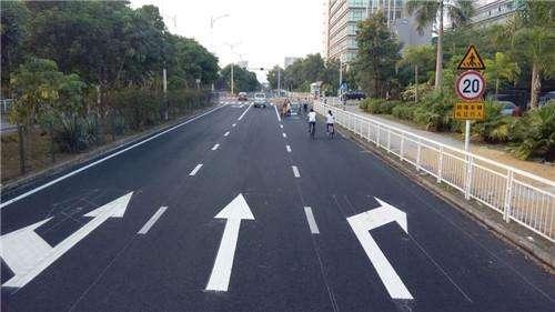 合川道路划线